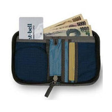 Load image into Gallery viewer, Montbell Japan Zip Wallet Durable Lightweight Coin Pouch