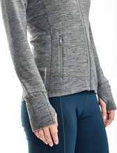 Load image into Gallery viewer, Icebreaker Merino 260 Women Quantum Hoodie Sports Jacket Training Outdoor Camping