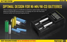Load image into Gallery viewer, NiteCore D2 Battery Charger