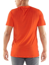 Load image into Gallery viewer, Icebreaker T-Shirt Men Merino Wool 150 Tech Lite - Mountain Line - Outdoor Camping Trekking Hiking Everyday Short Sleeve