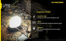 Load image into Gallery viewer, Nitecore LR10 Camping Light 250 Lumens