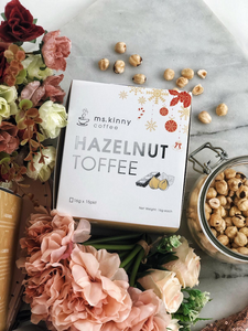 榛子拖肥咖啡 Hazelnut Toffee Coffee