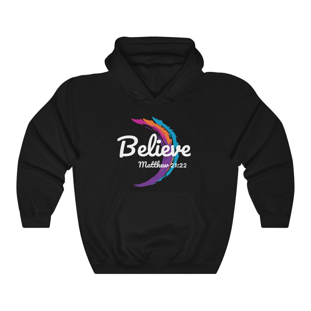 Believe Unisex  Hooded Sweatshirt