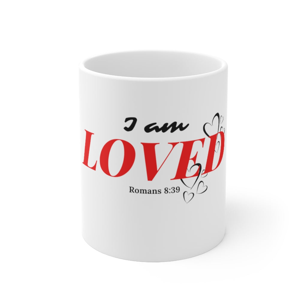 I Am Loved Ceramic Mug