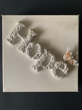 Load image into Gallery viewer, HOPE Wooden Letter Art on Canvas