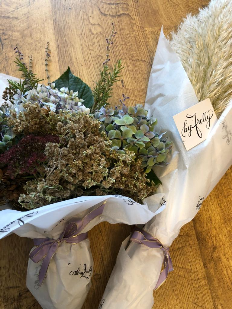 Pretty posies - custom made to order, for local Jersey, Channel Islands deliveries only