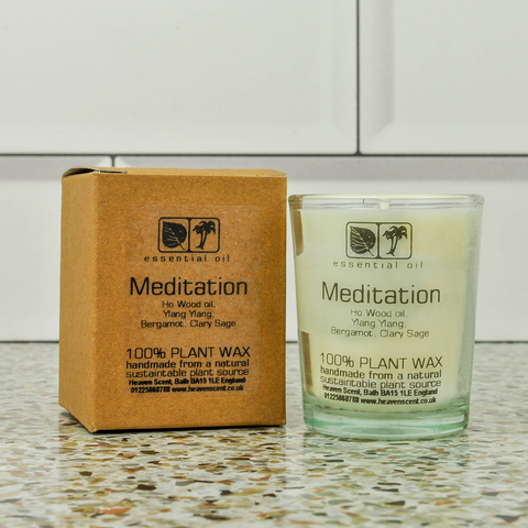 Meditation Candle Votive 9cl Heavenscent