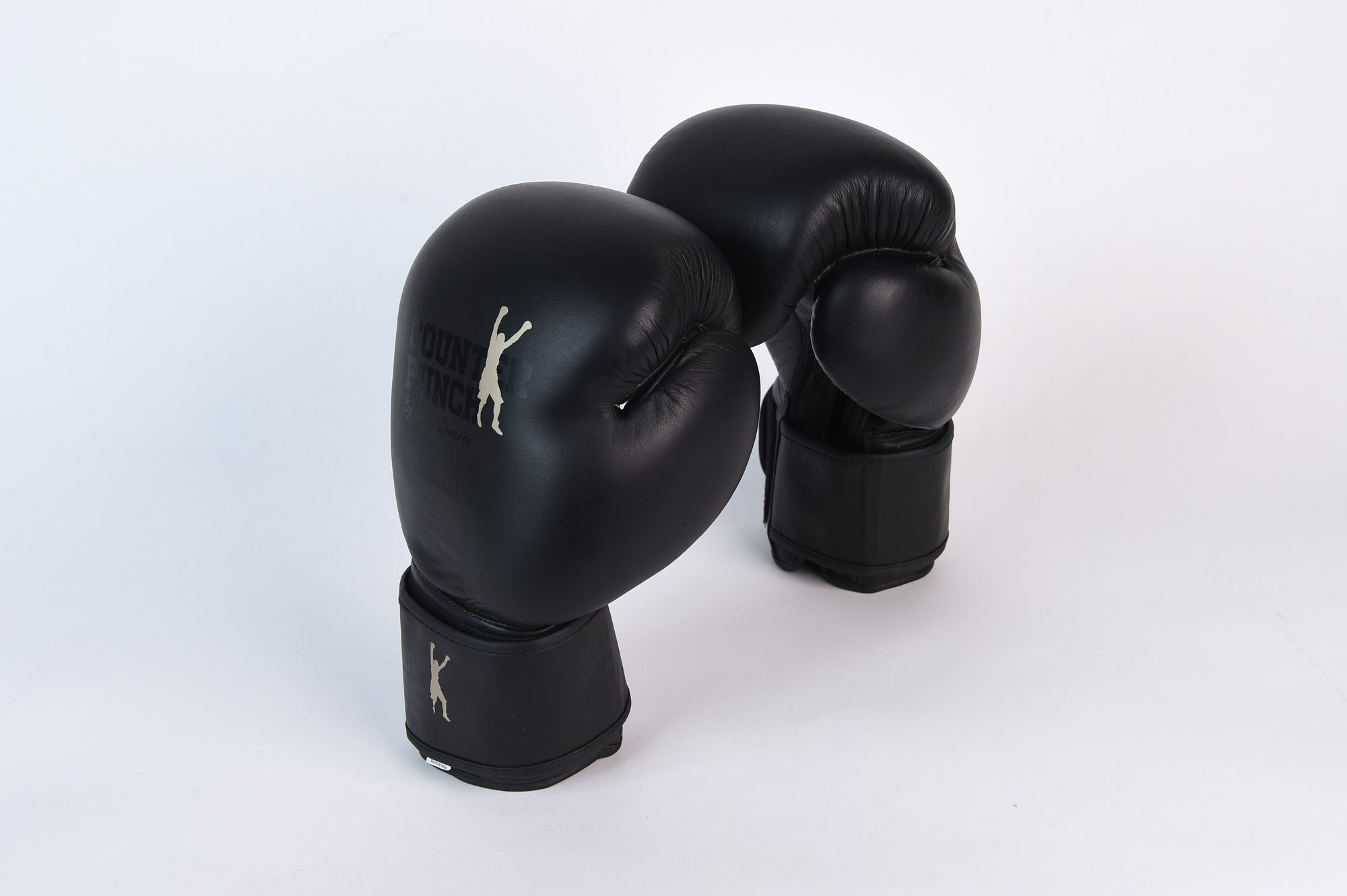 Special Edition Night Rider Black on Black Leather Gloves