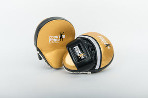 Curved Focus Pads for Boxing (Synthetic Leather)