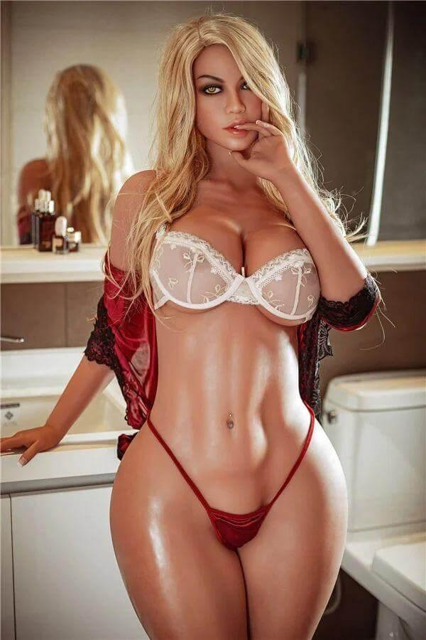 163cm Real Lifelike Blonde Adult Milf Sex Doll