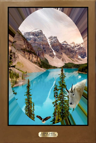 Majestic Banff National Park II by Bigan Fanli