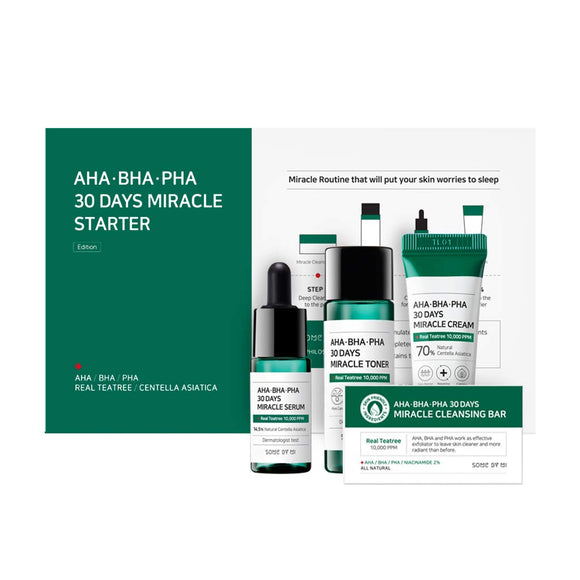 SOME BY MI AHA-BHA-PHA 30 days Miracle Starter Kit