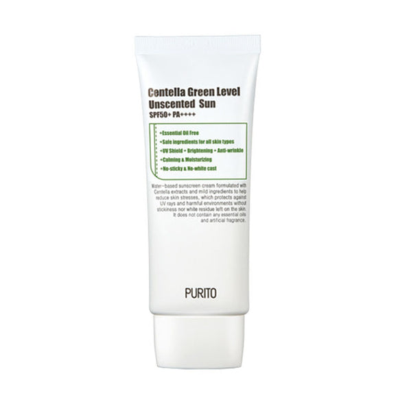 PURITO Centella Green Level Unscented Sunscreen - 60ml