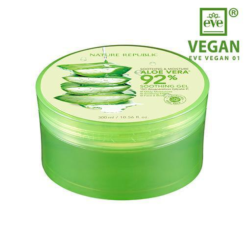 Nature Republic, Soothing & Moisture Aloe Vera 92% Soothing Gel - 300 ml
