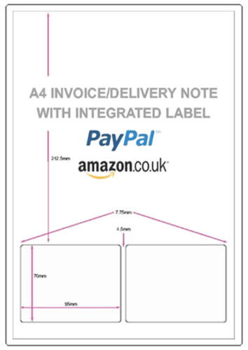 Amazon Integrated Invoice, Label And Packing Slip