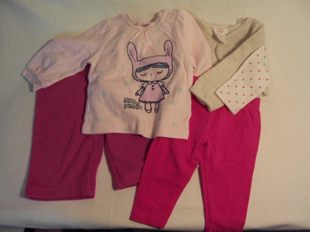 Comfy Cozy Set: Girls Winter 3-6 months