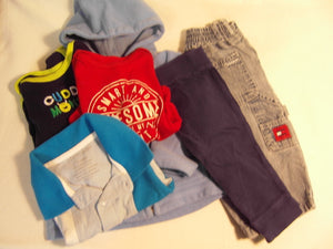 Comfy Cozy Set Boy 6/12M
