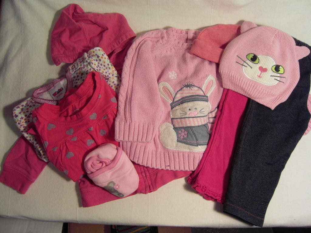 Comfy Cozy Set: Girls Winter 6-12 months