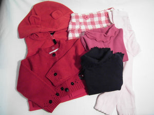 Comfy Cozy Set Girl 6/9M