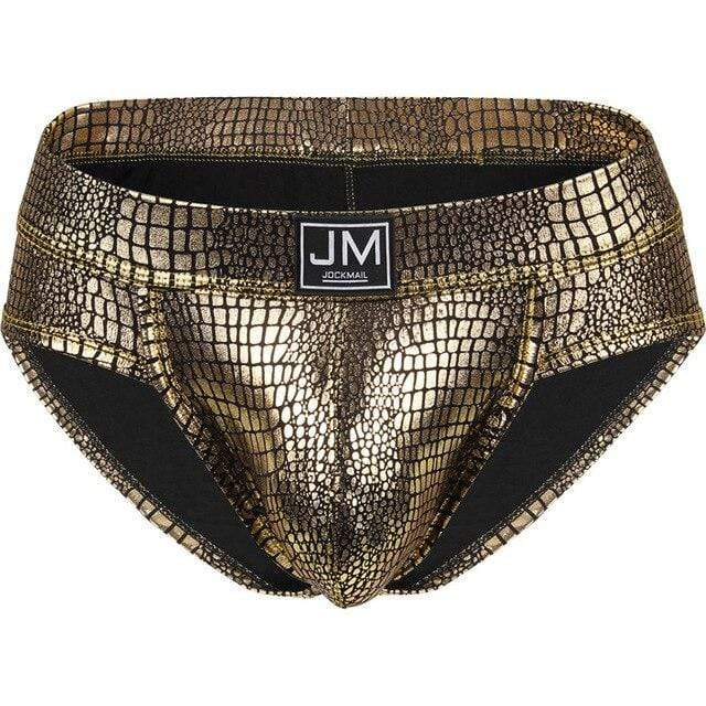 Jockstrapstore Gold / XL Briefs Panties