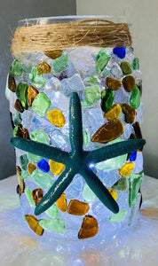Sea Glass Lantern