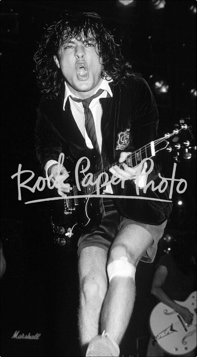 Angus Young by Mark Weiss