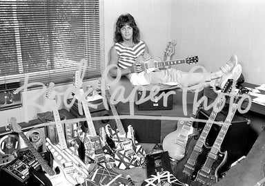 Eddie Van Halen by Richard E. Aaron