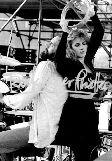 Mick Fleetwood & Stevie Nicks by Richard E. Aaron