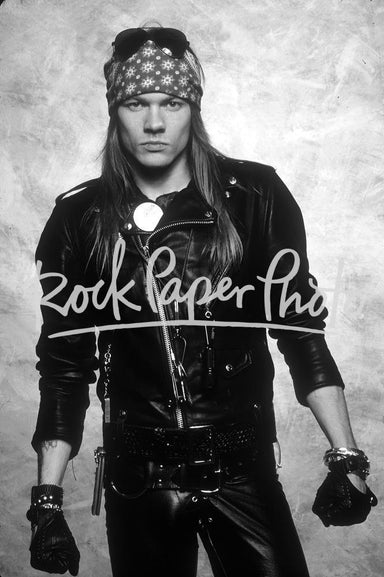 Axl Rose by Neil Zlozower