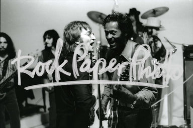 John Lennon & Chuck Berry by Chuck Pulin
