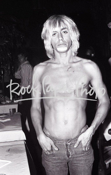 Iggy Pop by Chuck Pulin