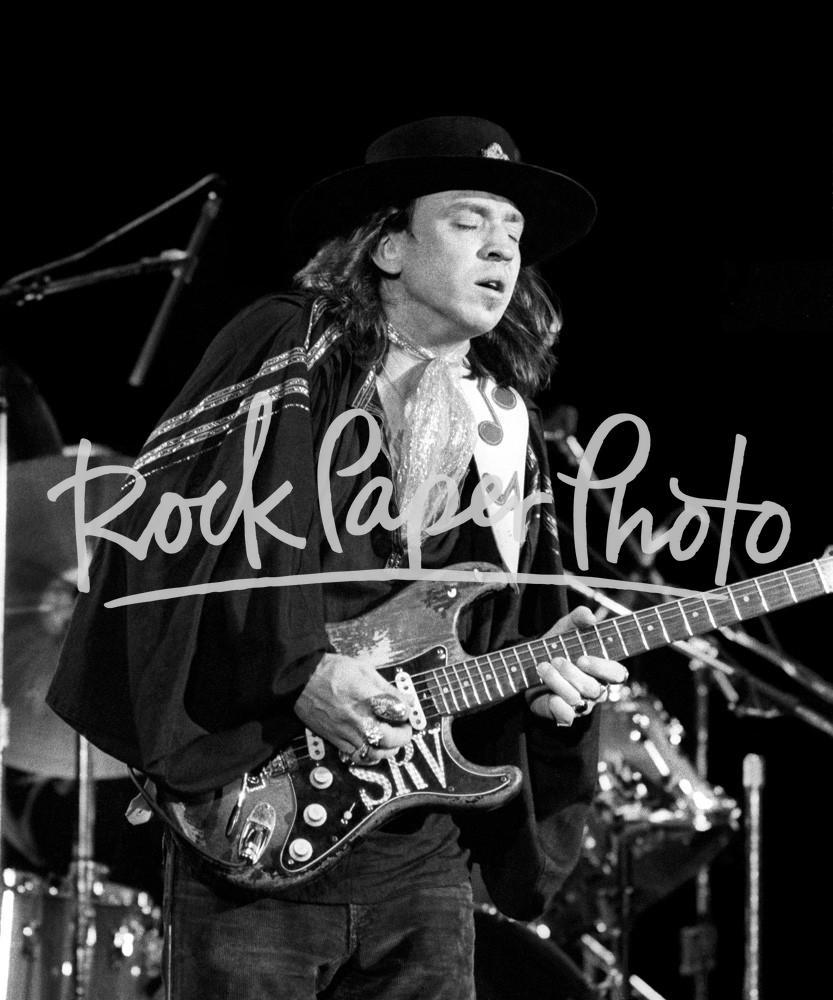 Stevie Ray Vaughan by Larry Hulst
