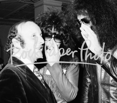 KISS and Clive Davis by Lisa Tanner