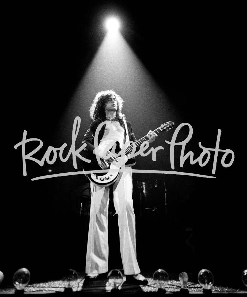 Jimmy Page by Larry Hulst