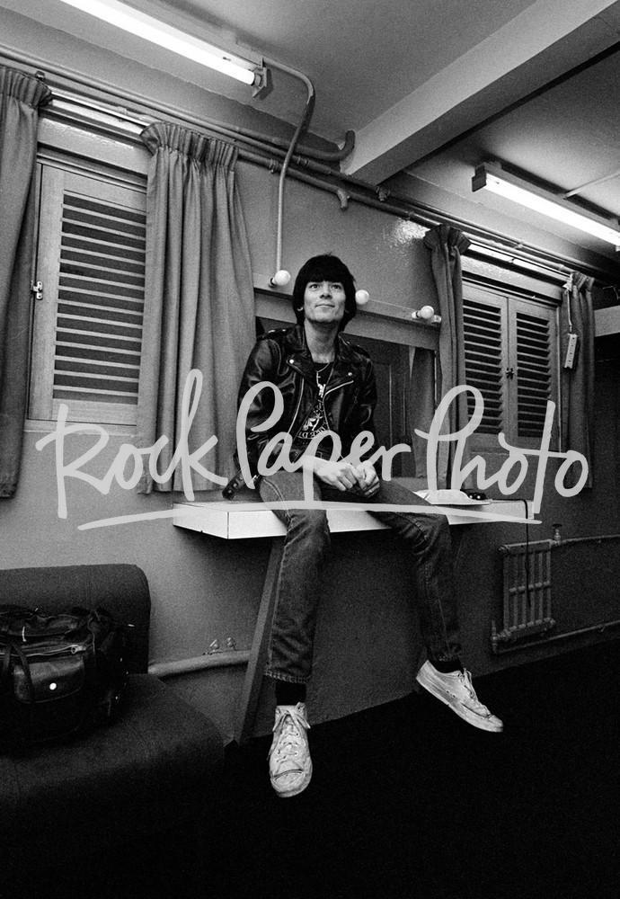Dee Dee Ramone by Adrian Boot