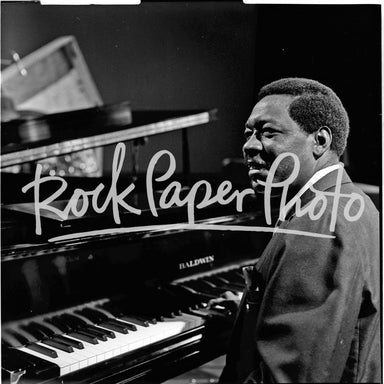 Otis Spann by Lee Tanner