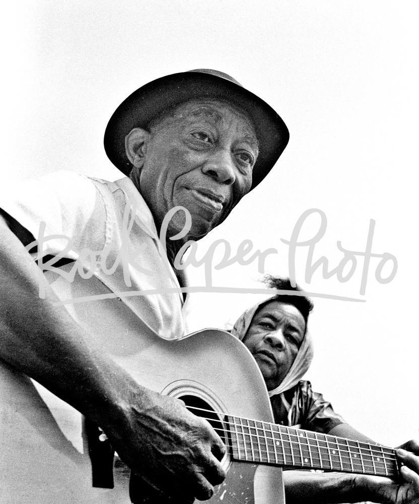 Mississippi John Hurt by Lee Tanner
