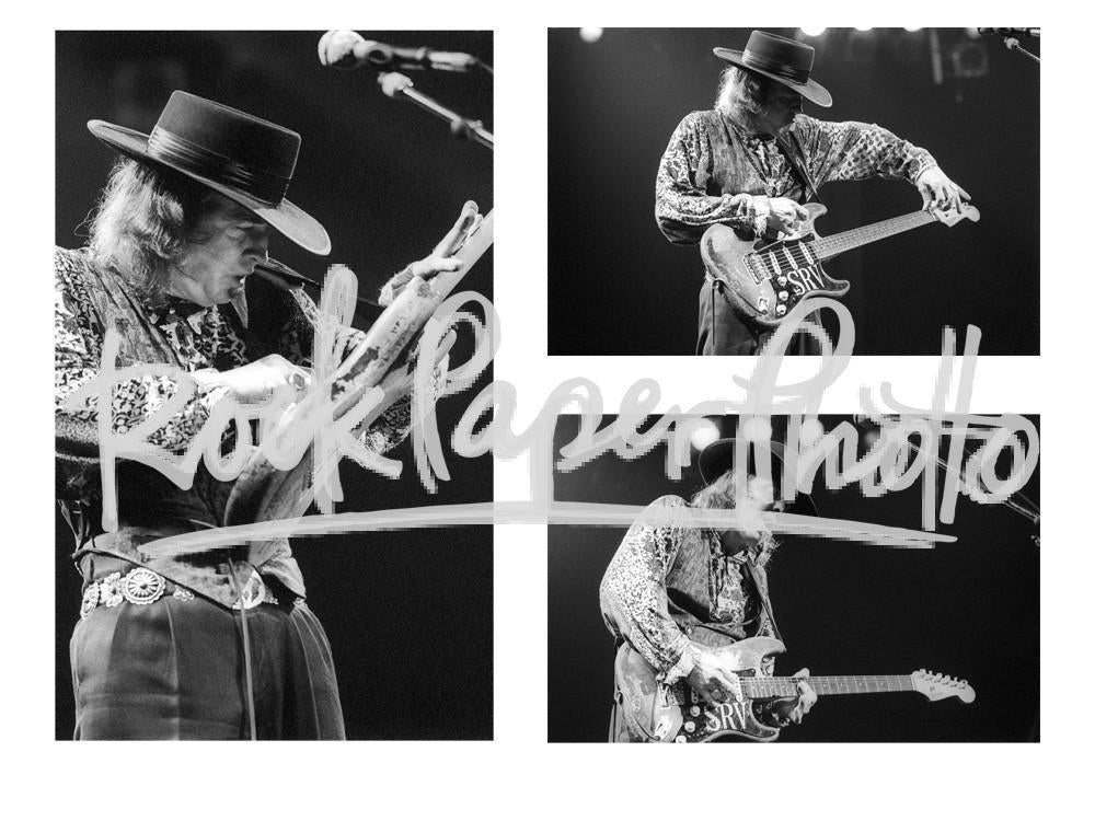 Stevie Ray Vaughan by Jay Blakesberg
