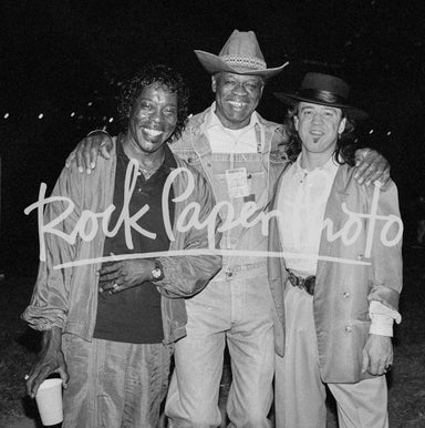 Buddy, Stubbs, and Stevie, Austin 1990