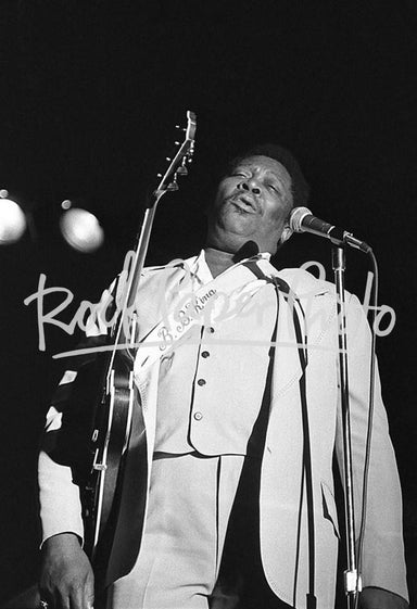 B.B. King by Dean M. Simmon