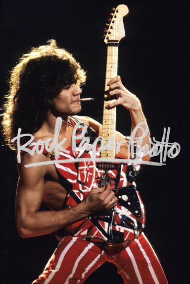 Eddie Van Halen by Mark Weiss