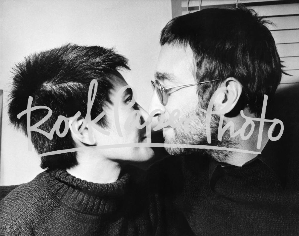 John Lennon & Yoko Ono from AP Collection