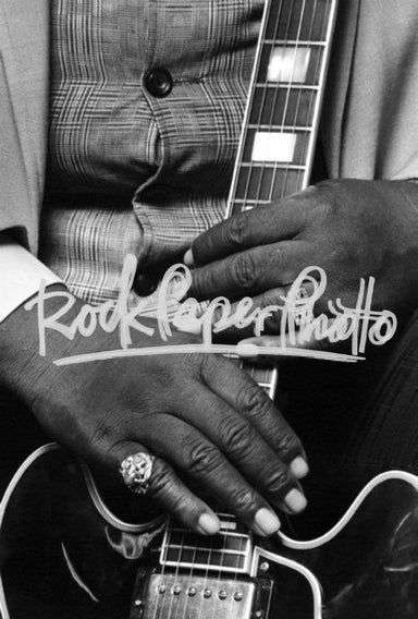 B.B. King's Hands, NYC 1987