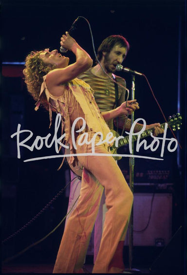 Roger Daltrey & Pete Townshend, Houston 1975