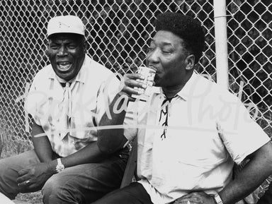 Howlin' Wolf & Muddy Waters by Thomas Copi