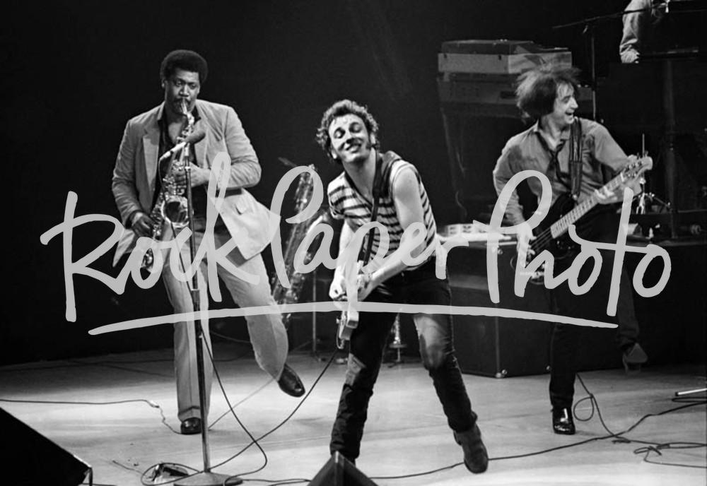 Bruce Springsteen & The E Street Band by David Cor