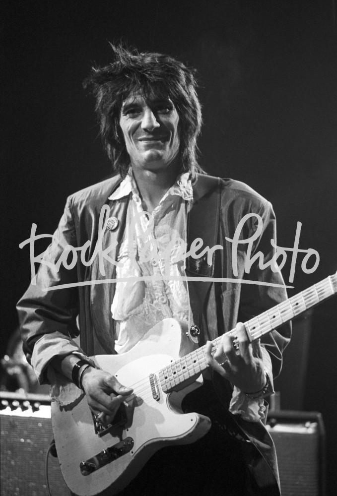 Ron Wood , NYC 1982