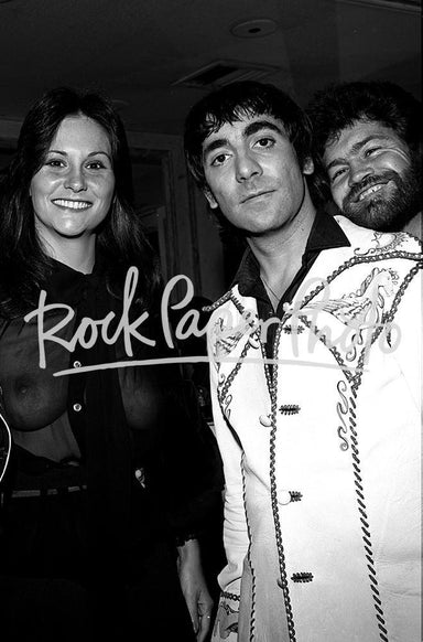 Keith Moon, Linda Lovelace & Micky Dolenz by James