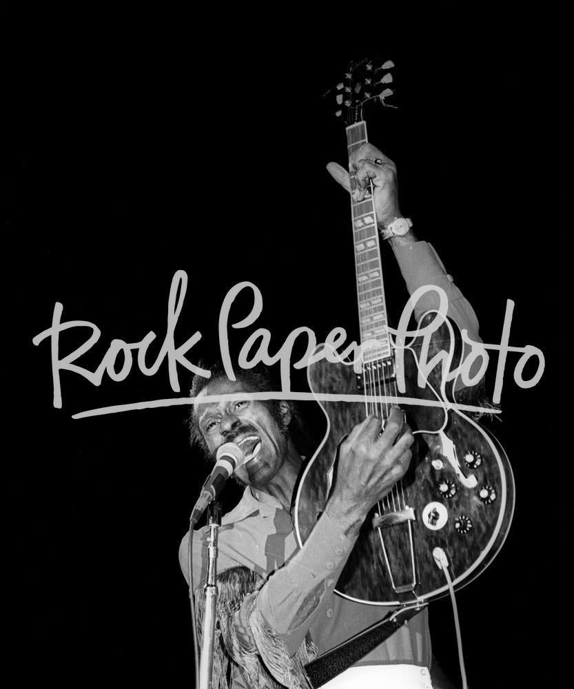Chuck Berry by Larry Hulst
