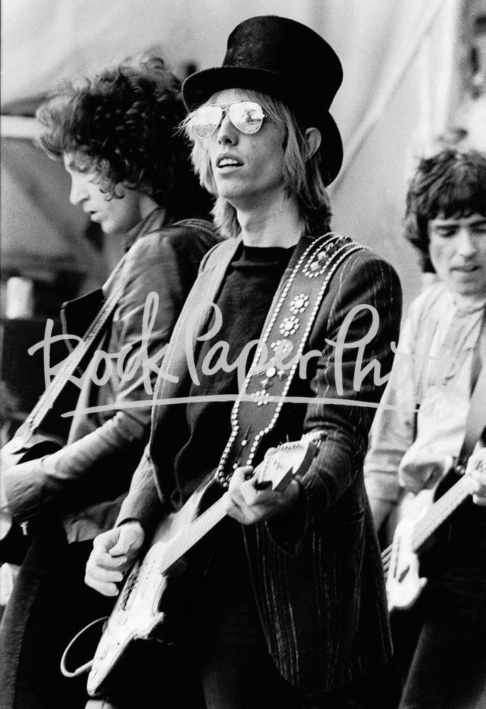 Tom Petty & the Heartbreakers by Gus Stewart